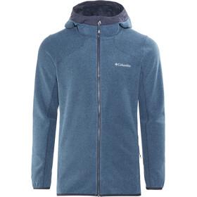 Columbia Tough Hiker Hooded Fleece Jacket Herren Phoenix Blue/Collegiate Navy